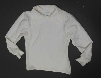 NWOT Wolff Fording White Collared Long sleeve shirt Child sizes Spandex