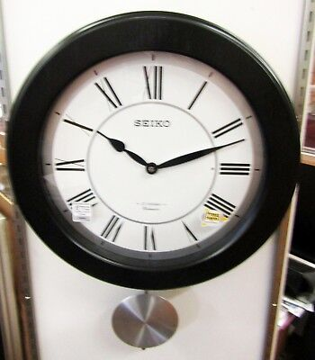Seiko  Musical  Wall Clock W/ 18 Melodies  And Westminster Chime Qxm345