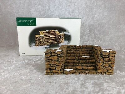 Dept 56 Village Accessories - STONE STAIRWAY Item #52725
