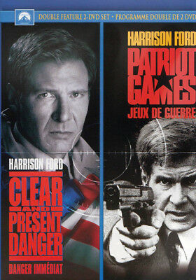 Clear And Present Danger / Patriot Games (Double Feature) (Bilingual) (Dvd)