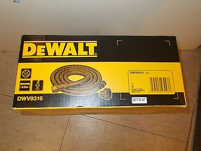 Dewalt 4 M Suction Hose Dwv 9316 DWV9316 anti - Static for DWV900L DWV901L