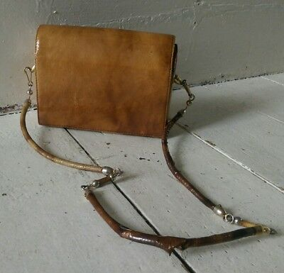 Vintage Retro Ladies Womens Stunning Amazing Unique Box Bag Handbag 50's 60's