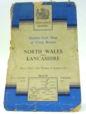Ordnance Survey quarter inch North Wales and Lancashire (Anon -1957) (ID:49779)