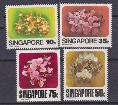 Flower Stamps Singapore 1979 Flora Orchids Mnh Flwr217 Nature & Plants Stamps