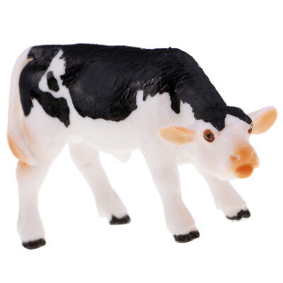 Simulation Farm Cow Animal Model Figure Kids Educational Toy Home Decor #5