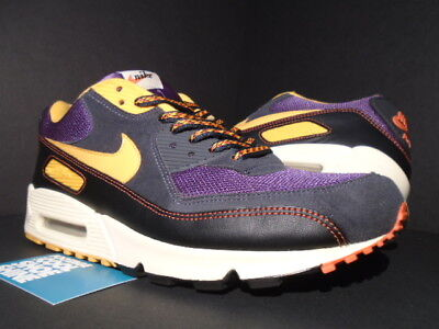 best service large discount pretty nice 05 NIKE AIR Max 90 Powerwall Brs Purple Orange Black White ...