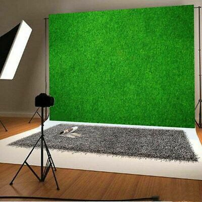 5x7ft Green Grass Land Photography Background Natural Adult Baby Backdrop Decor