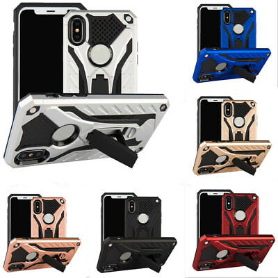 Hybrid Armor Shockproof Rugged Bumper Case For Apple iPhone 10 X 8 7 Plus 6s 6