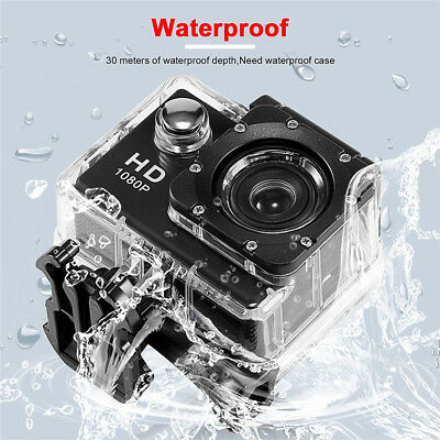 SJ4000 1080P 12MP Sports Car DV Video Action Camera 2.0 inch HD 3 Color