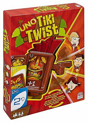 Mattel Games CGH09 - Uno Tiki Twist Card Game for the Whole Family! New
