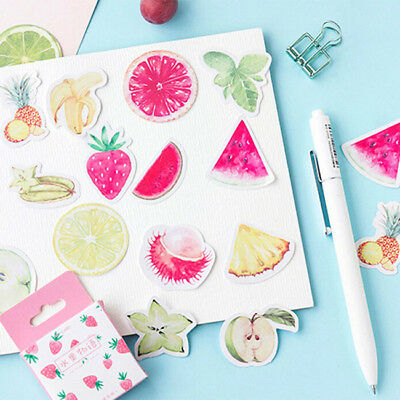 Feathers Dog Fruits Paper Label Sticker Decal Craft Scrapbook Ablums Decor Z