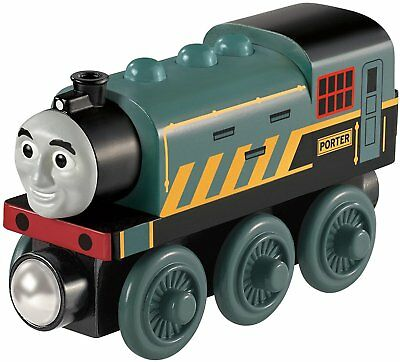 Mattel BDF98 Fisher-Price Thomas and His Friends Porter Wood Locomotive Wooden