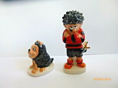 Wade Whimsie Dennis The Menace And Gnasher The Beano 50% Of Rrp