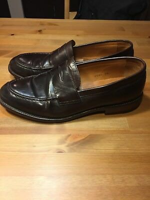 c341d93e6f7 JCREW LUDLOW LEATHER Penny Loafers Shoes  298 11.5 brown a4362 ...