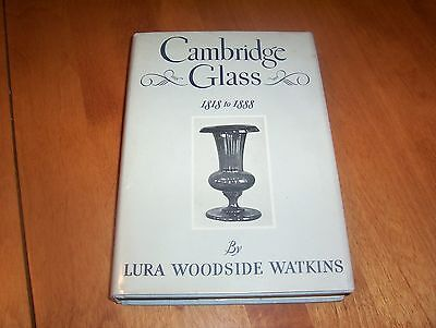 CAMBRIDGE GLASS 1818 to 1888 Antique Glassmakers Antiques New England Book