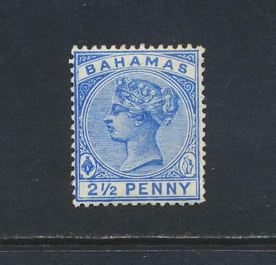BAHAMAS 1884, 2½d WMK CA, VF LH SG#51 CAT£50 $70 (SEE BELOW)
