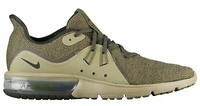 lowest price 5da94 5c273 Nike Air Max Sequent 3 Mens 921694-200 Olive Sequoia Knit Running Shoes  Size 13