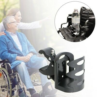 Wheelchair Scooter Stadium Airplane Armrest Bicycle Water Cup Bottle Holder Tool