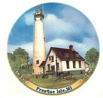 Lighthouse Presque Isle MI Select-A-Size Waterslide Ceramic Decals Xx
