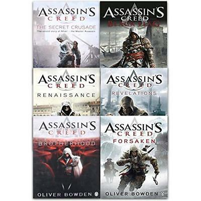 Assassins Creed Collection 6 Books Set By Oliver Bowden (Renaissance, Brotherhoo