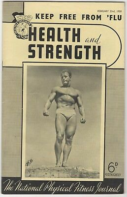 Health And Strength- 23/2/1950 - Leo Sterne, Frank Roper, Ray Swales