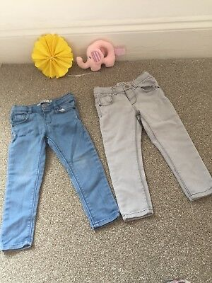 f6e944a06 NEXT BABY GIRLS jeans age 9-12 months - £3.99