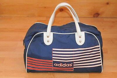 Vintage Adidas Weekend Bag - 80 s Sports Holdall - Football 78136077cd477
