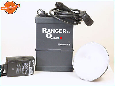 Elinchrom Ranger RX Quadra Professional Lighting Kit inc Battery,Charger +A Head