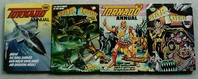 Starlord and Tornado Annuals (1980/81) Fleetway (Free P&P)