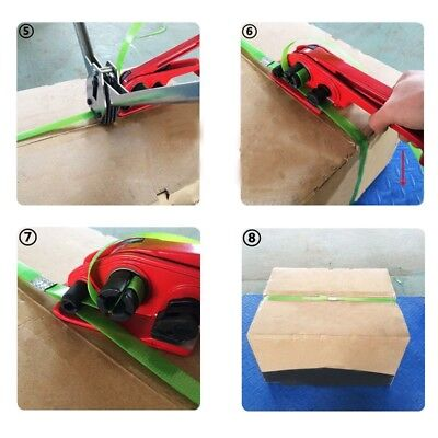 12 To 19mm Manual Hand Pack Strapping Tool Strapping Tensioner