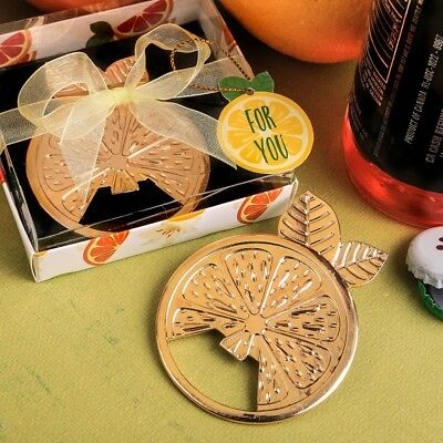 50 Citrus Bottle Openers Wedding Bridal Shower Birthday Party Gift Favors