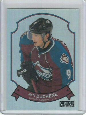 14/15 OPC Platinum Colorado Avalanche Matt Duchene Retro Rainbow card #22