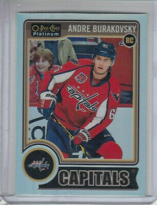 14/15 OPC Platinum Washington Capitals Andre Burakovsky Rainbow RC card #163