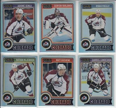 14/15 OPC Platinum Colorado Avalanche Matt Duchene Rainbow card #78