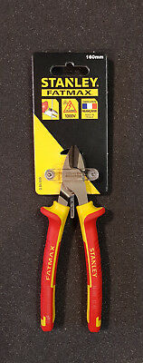 Stanley Vde Isolé long nez Pince 200 mm 0-84-007 STA084007