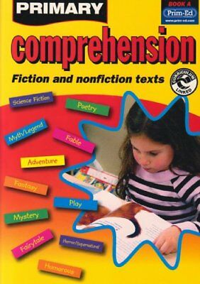 Primary Comprehension: Bk. A: Fiction and Non... by Prim-ed Publishing Paperback