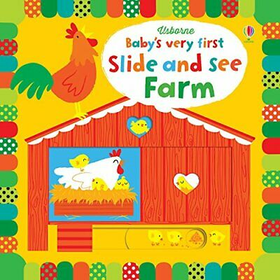Baby's Very First Slide and See Farm (Baby's Very First Books) by Fiona Watt The