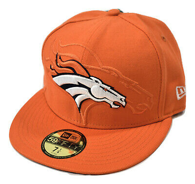651f8a3256cf8e New Era 59Fifty NFL On-Field Denver Broncos Sideline Fitted Hat Cap NWT