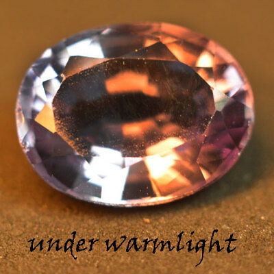 2.65ct.AWESOME RUSSIAN COLOR CHANGE ALEXANDRITE OVAL GEMSTONE