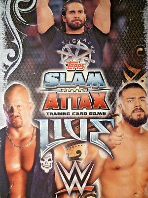 Slam Attax  Live Champion Or Rival Cards   001 To 048  By Topps           Choose