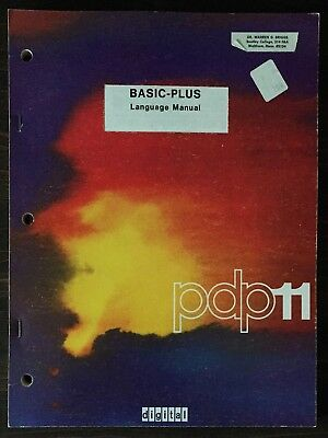 Digital DEC PDP-11 RSTS-11 Basic-Plus Language Manual 1973