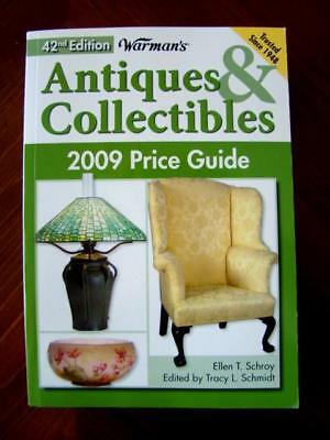 2009 WARMAN'S 42nd Edition Color ANTIQUES & COLLECTIBLES 2009 Price Guide Book