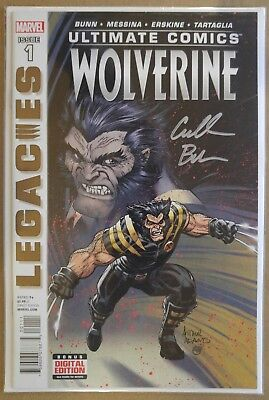 **Ultimate Wolverine: Legacies #1, 2, 3, 4** COMPLETE! SIGNED By CULLEN BUNN! NM