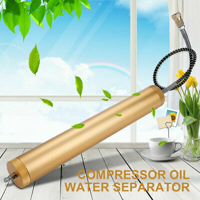 High Pressure Air Pump Compressor 30MPa Dual-tank Oil Water Filter Separator Hot