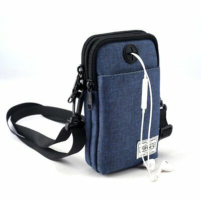 Travel Neck Pouch Neck Wallet Bag Stash Hidden Pack Money Passport Holder Sport