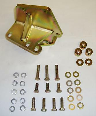 M.O.R.E. Mounting Bracket Steering Box Relocation Steel Zinc Plated Jeep Kit