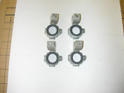 """Conduit Insulated Threaded Grounding Ground Bushing 1/2"""" Package Of4"""