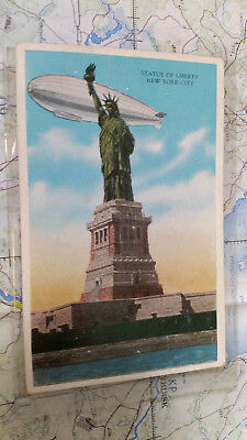 Statue of Liberty New York City AK Postkarte 4181