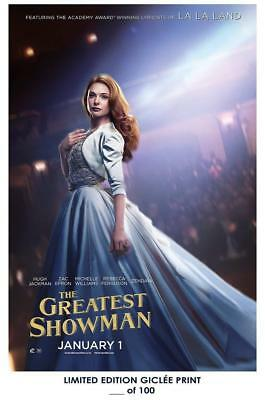 """18"""" x 12"""" Giclee Art Print Poster The Greatest Showman 02 movie"""