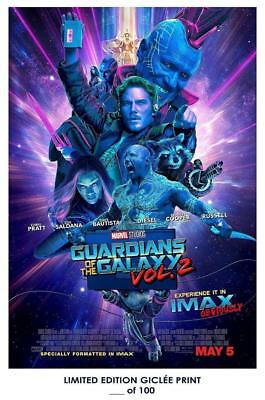 """18"""" x 12"""" Poster Giclee Art Print Guardians Of The Galaxy Vol 2 02"""